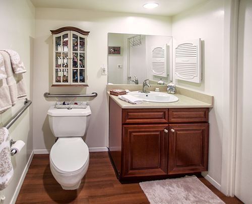 Deluxe Studio Apartment Bathroom