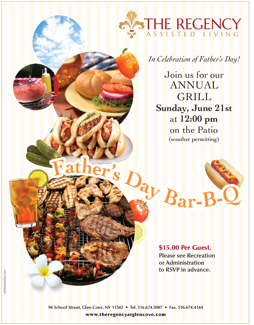 The Regency Father S Day Bar B Q